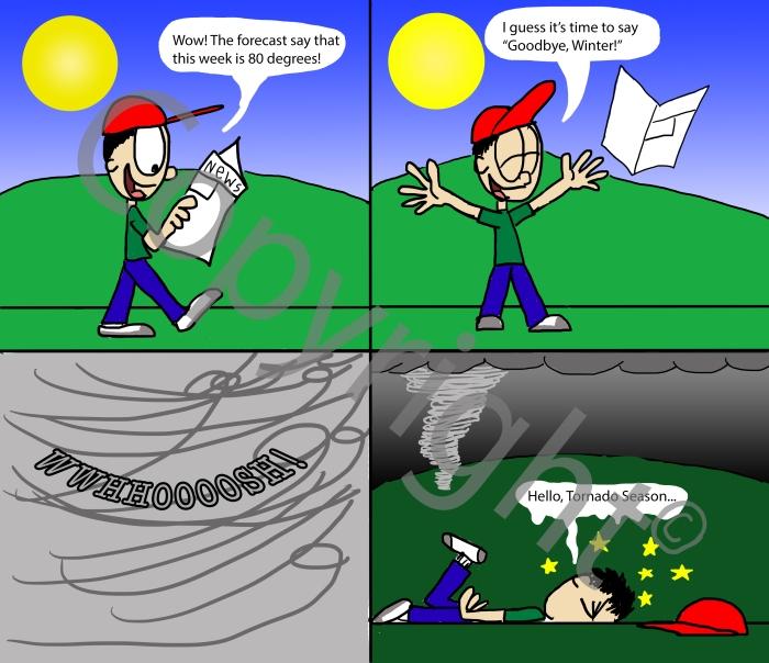 Hello Tornado Season