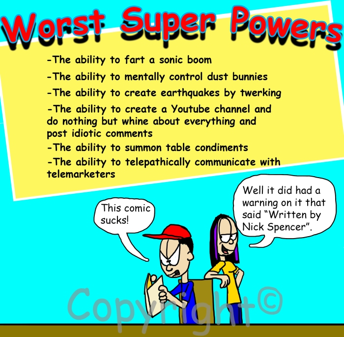 Worst Super Powers Version